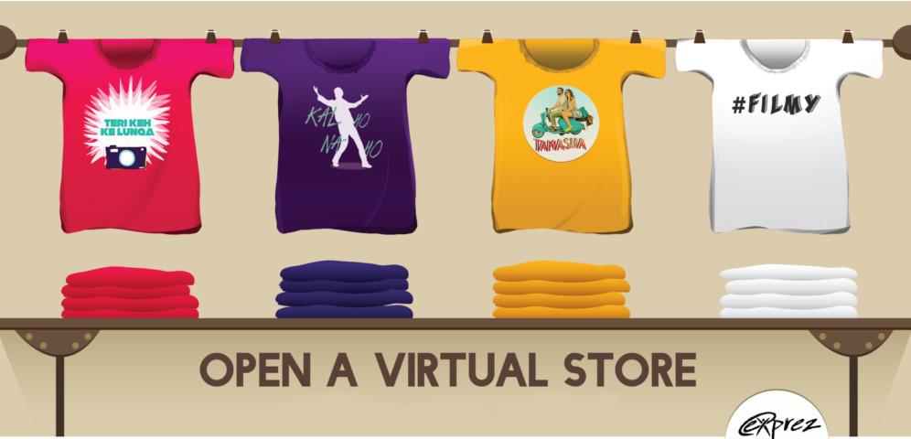 open virtual t-shirt store