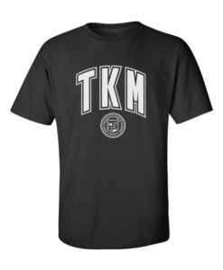 TKM College Mens Black Roundneck T-Shirt