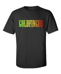 GOLDFINGER Mens T-Shirt Black