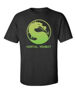 Mortal Kombat Mens T-Shirt Black