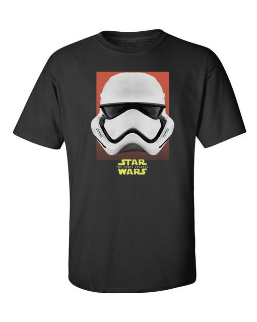 Star Wars Force Awakens Storm Troopers Mens T-Shirt Black