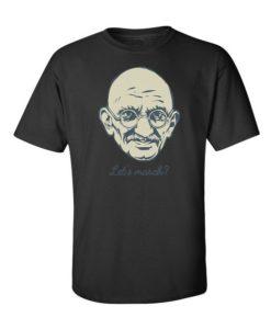 """""""Lets March?"""" T-Shirt Black"""