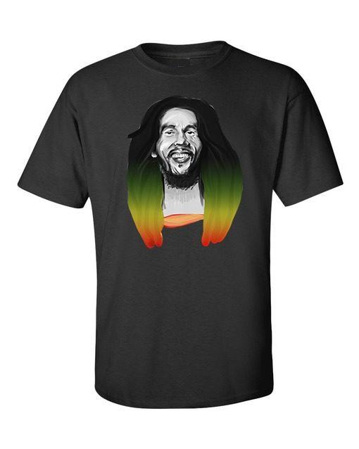 Bob Marley T-Shirt Black
