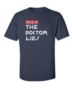 Doctor Lies Navy Blue