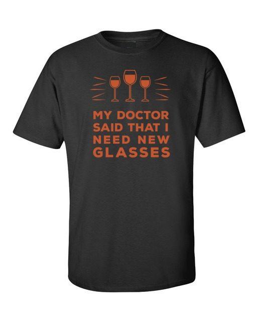 Doctor New Glasses Black