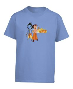 Chhota Bheem Krishna Kids Light Blue