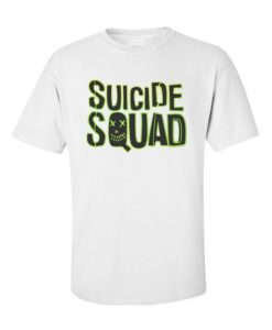 Suicide Squad Logo C White