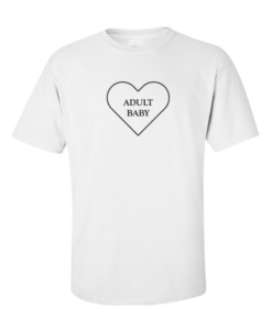 adult baby white