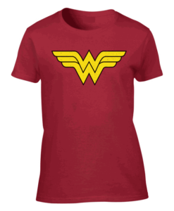 Wonder Woman Logo Red