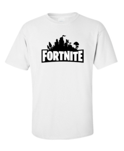 fornite logo white
